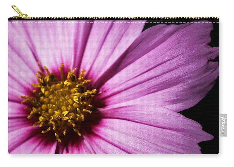 Floral Carry-all Pouch featuring the photograph Pink Tickseed by Susan McMenamin