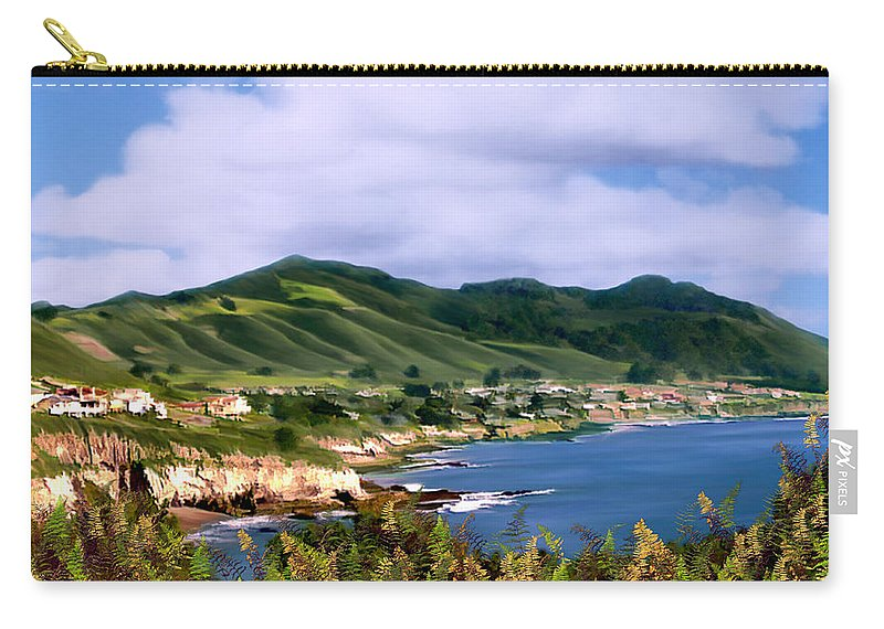 Cove Carry-all Pouch featuring the photograph Pirates Cove by Kurt Van Wagner
