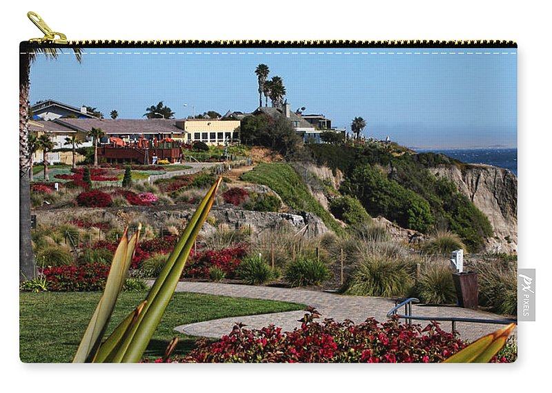 America Carry-all Pouch featuring the photograph Pismo Beach Landscape by Judy Vincent