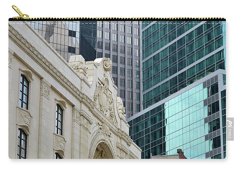 Downtown District Carry-all Pouch featuring the photograph Pittsburgh Architecture by Rivernorthphotography