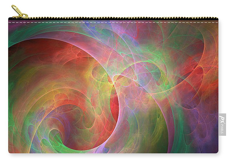 Pleasures Carry-all Pouch featuring the digital art Placeres-03 by RochVanh