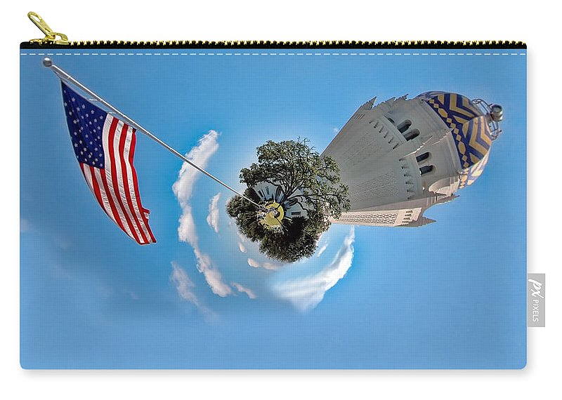 united States Carry-all Pouch featuring the photograph Planet Randolph Afb by Dan McManus