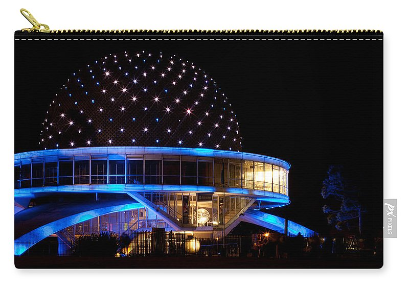 Planetarium Carry-all Pouch featuring the photograph Planetarium by Silvia Bruno