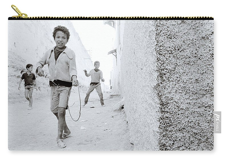 Happiness Carry-all Pouch featuring the photograph The Joy Of Life by Shaun Higson