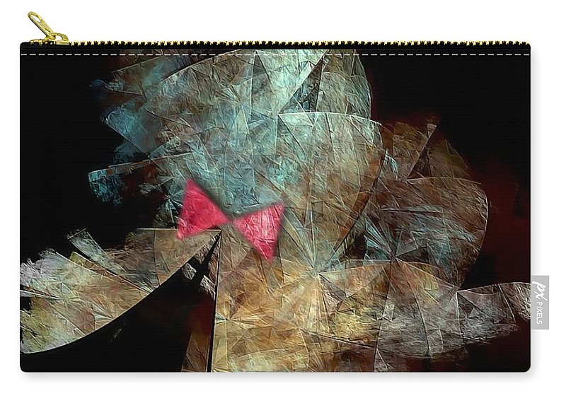 Graphics Carry-all Pouch featuring the digital art Playboy 0583 Marucii by Marek Lutek