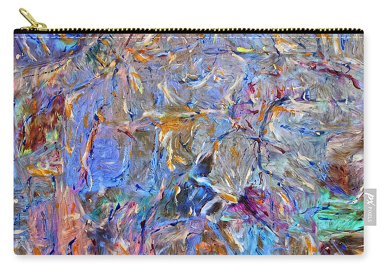 Abstract Carry-all Pouch featuring the painting Playground by Dominic Piperata