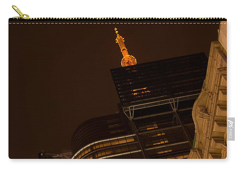 """""""new York City"""" Carry-all Pouch featuring the photograph Pointing Towards Heaven by Paul Mangold"""