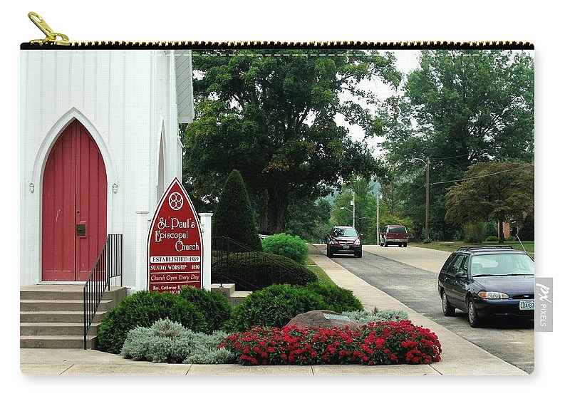 Points Of View Carry-all Pouch featuring the photograph Points Of View by Kip DeVore