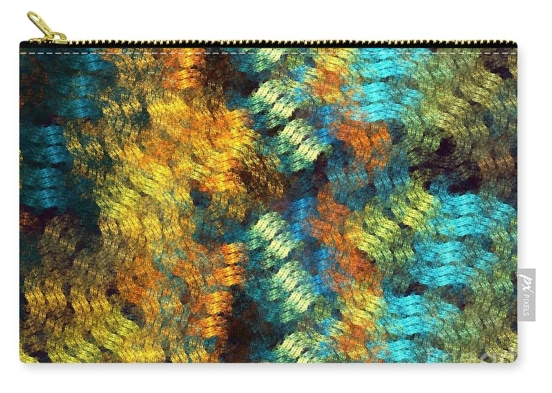 Apophysis Carry-all Pouch featuring the digital art Pollux by Kim Sy Ok