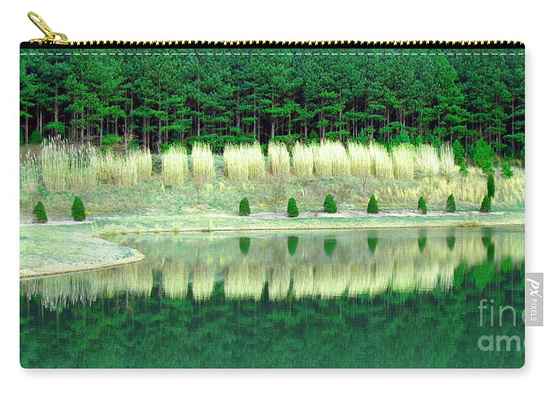 Trees Carry-all Pouch featuring the photograph Ponderings by Lydia Holly