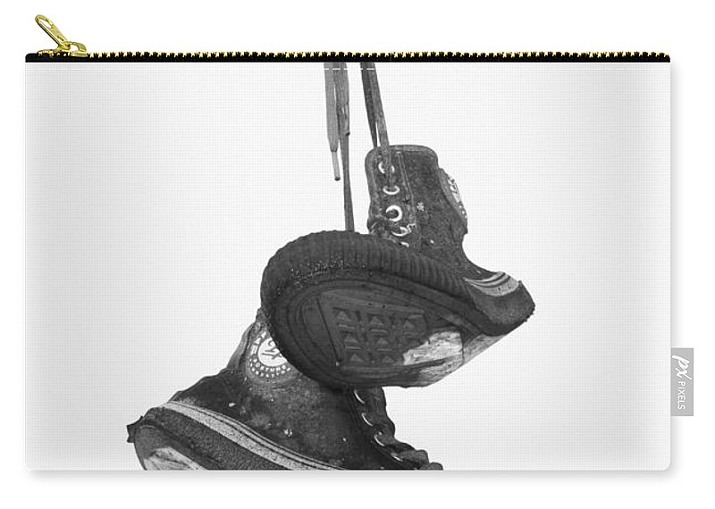 Shoes Carry-all Pouch featuring the photograph Poor Sport by The Artist Project
