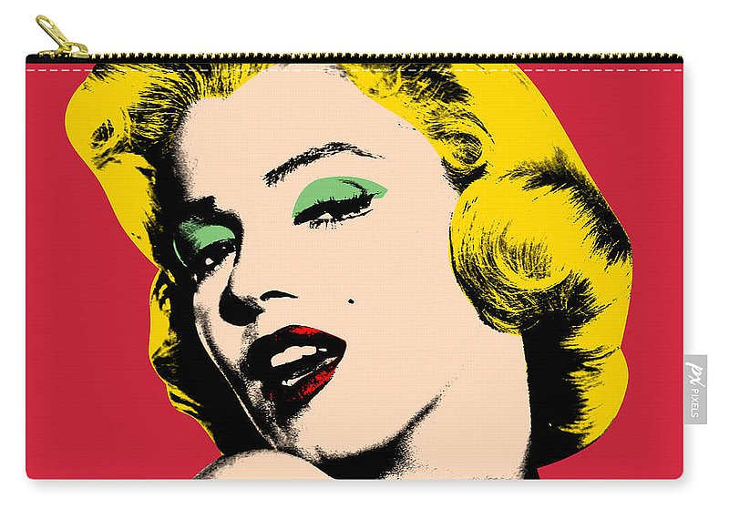 Pop Art Carry-all Pouch featuring the painting Pop Art by Mark Ashkenazi