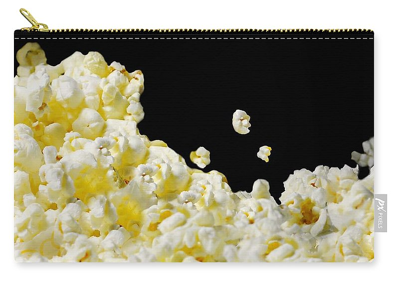 Popcorn Carry-all Pouch featuring the photograph Popcorn by Diana Angstadt