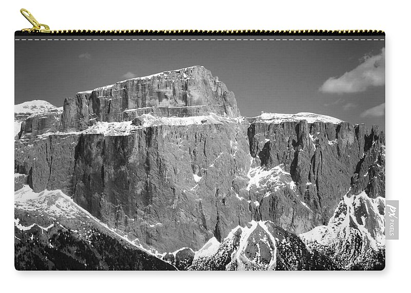 Europe Carry-all Pouch featuring the photograph Pordoi Joch - Italy by Juergen Weiss