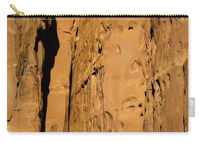 Stone Carry-all Pouch featuring the photograph Portal Through Stone by Jeffrey Kolker