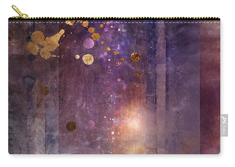 Abstract Carry-all Pouch featuring the digital art Portal Variant 1 by MGL Meiklejohn Graphics Licensing