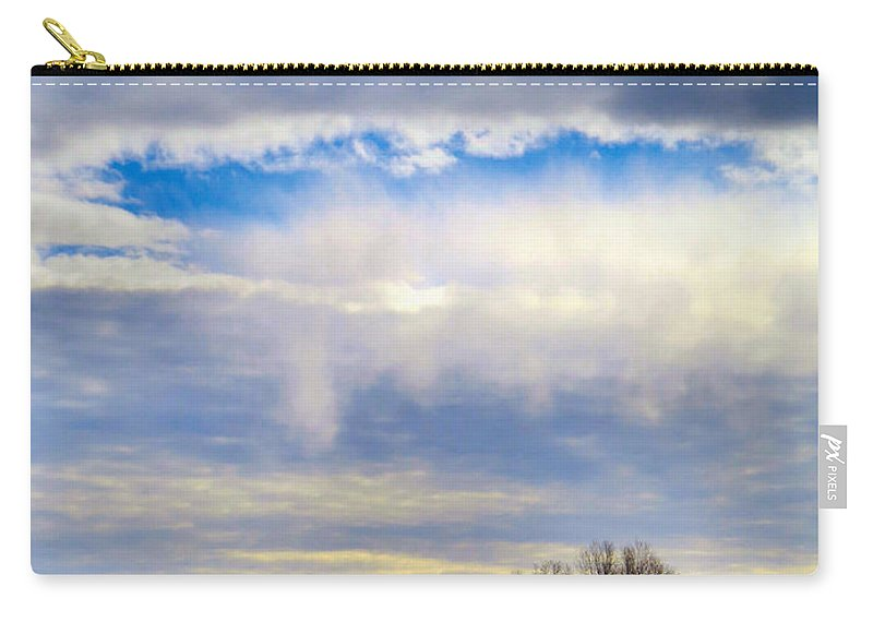 Sky Carry-all Pouch featuring the photograph Portals by Art Dingo