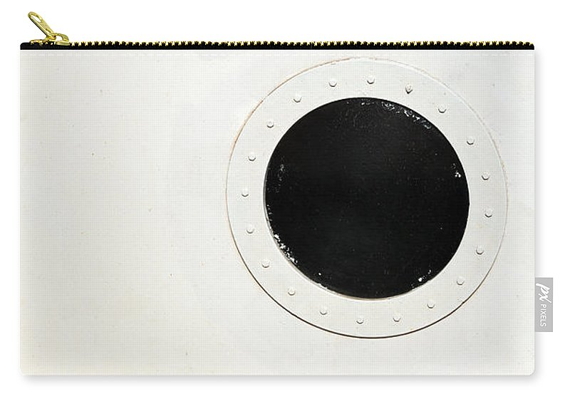 Porthole Carry-all Pouch featuring the photograph Porthole by Karol Livote