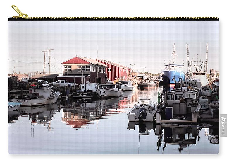 Portland Carry-all Pouch featuring the photograph Portland by Jenny Hudson