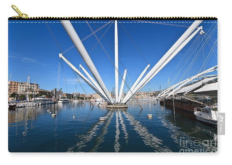 Ancient Carry-all Pouch featuring the photograph Porto Antico In Genova by Antonio Scarpi
