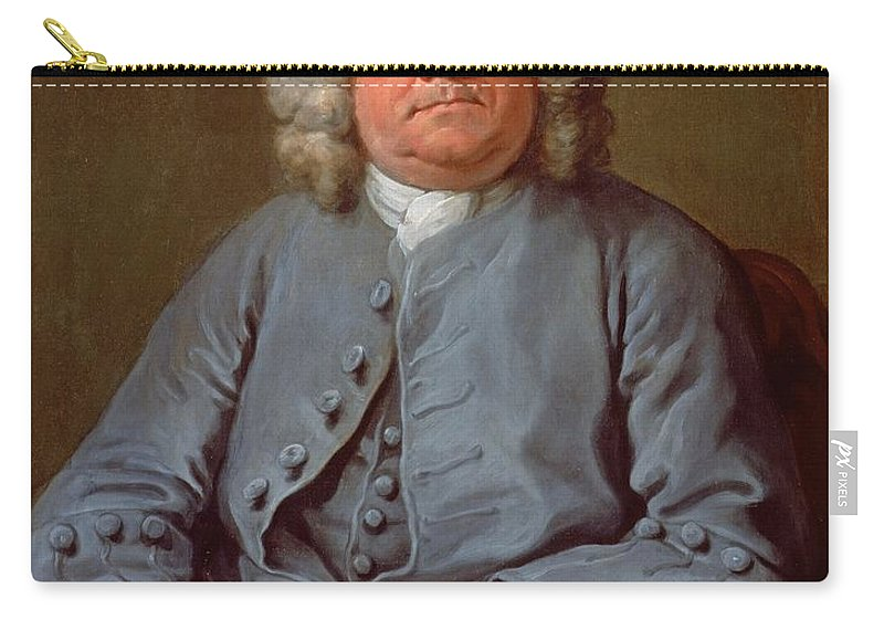 Wig Carry-all Pouch featuring the painting Portrait Of George Arnold Esq. Of Ashby by William Hogarth