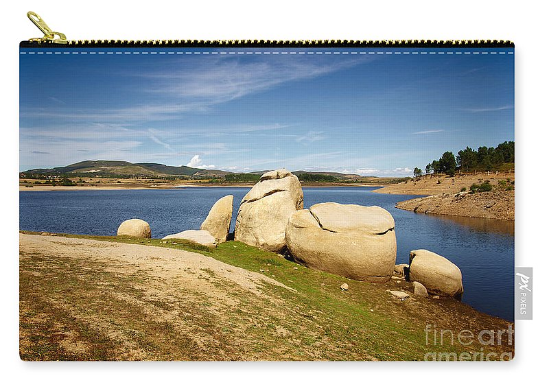 Portugal Carry-all Pouch featuring the photograph Portugal Countryside by Carlos Caetano