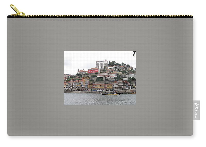 River Scence Carry-all Pouch featuring the photograph Portugal by Kimberly Maxwell Grantier
