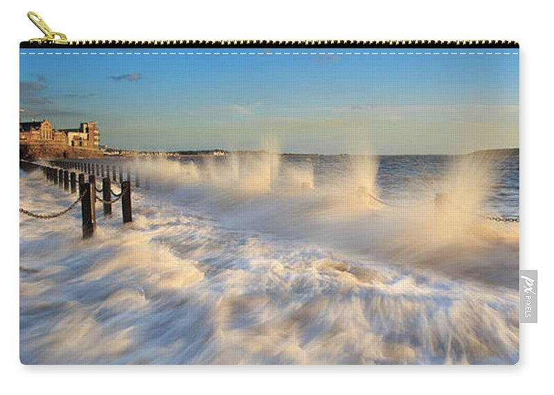 Tranquility Carry-all Pouch featuring the photograph Post Haste by A Pixelsuzy Image