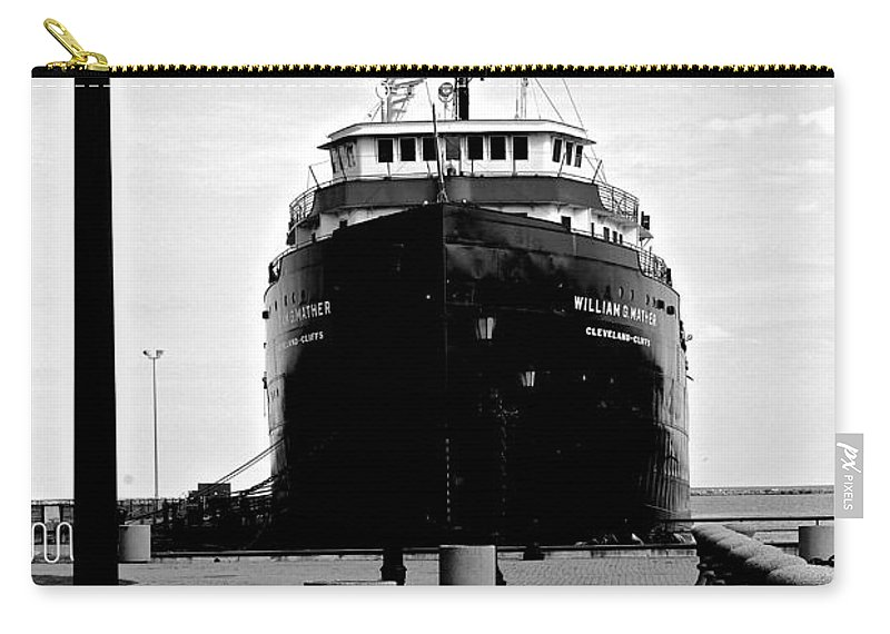 Ship Carry-all Pouch featuring the photograph Postcard Perfect by Frozen in Time Fine Art Photography