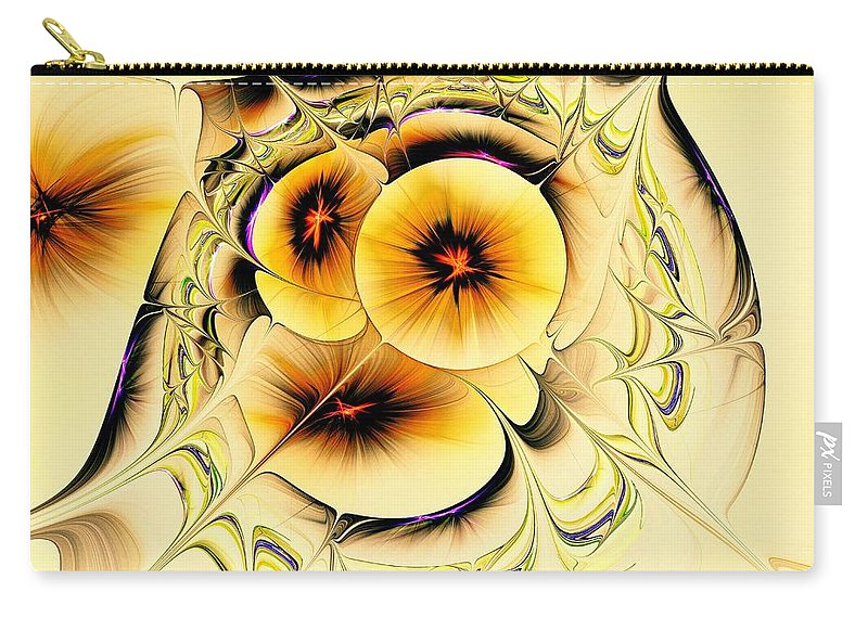 Plant Carry-all Pouch featuring the digital art Potpourri by Anastasiya Malakhova