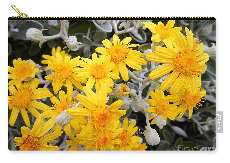 Nature Carry-all Pouch featuring the photograph Power Of Yellow by Loreta Mickiene