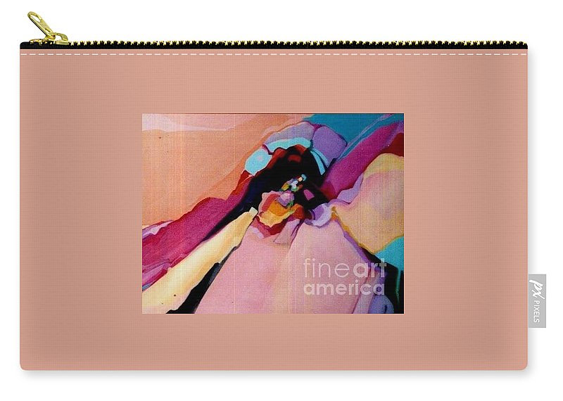Sedona Carry-all Pouch featuring the painting Power Within by Marlene Burns