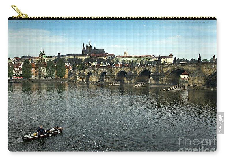 Bridge Carry-all Pouch featuring the photograph Prague by Gunnar Orn Arnason