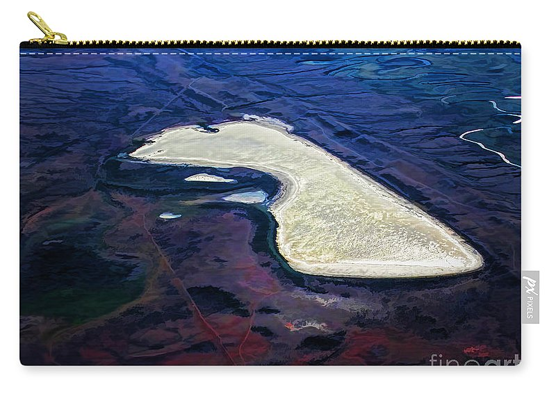 Lake Carry-all Pouch featuring the photograph Prairie Dog Lake by Jon Burch Photography