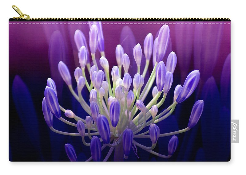 Agapanthus Carry-all Pouch featuring the photograph Praise by Holly Kempe
