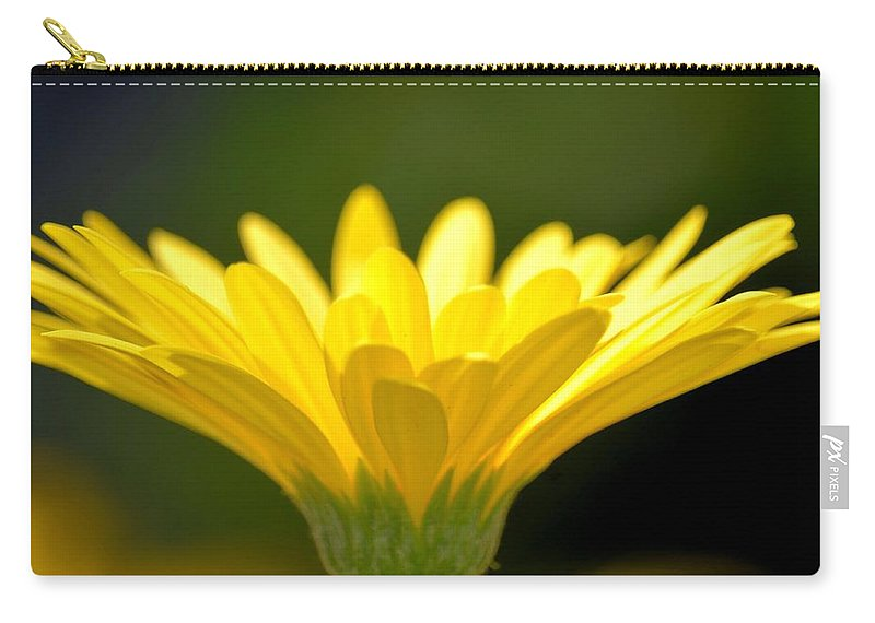 Praising Carry-all Pouch featuring the photograph Praising Petals by Maria Urso