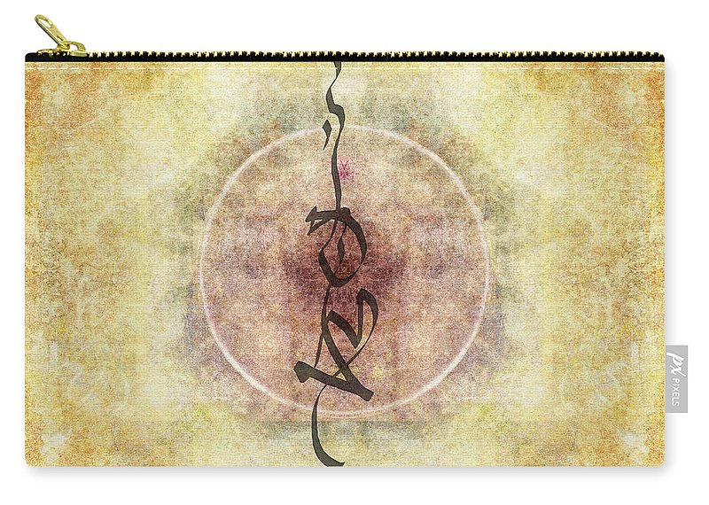 Prayer Carry-all Pouch featuring the photograph Prayer Flag 36 by Carol Leigh