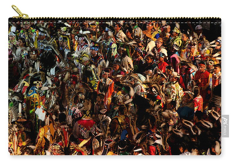 Dance Carry-all Pouch featuring the photograph Prayer Made Visible by Joe Kozlowski