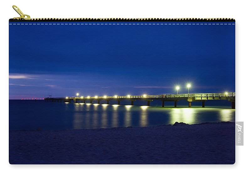 Ostsee Carry-all Pouch featuring the pyrography Prerow Baltic Sea by Steffen Gierok