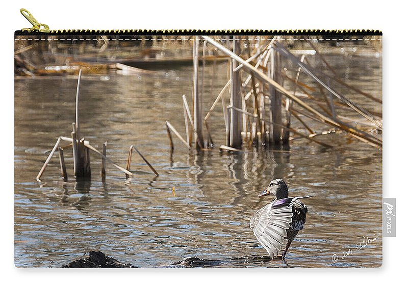 Spring Carry-all Pouch featuring the photograph Pretty Lady by Edward Peterson