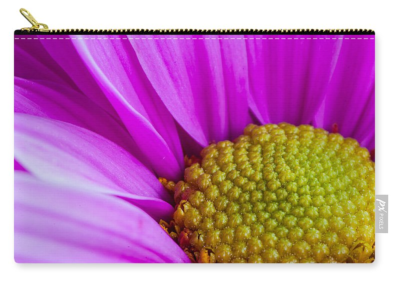 Flower Carry-all Pouch featuring the photograph Prettyinpink by Randy Walton