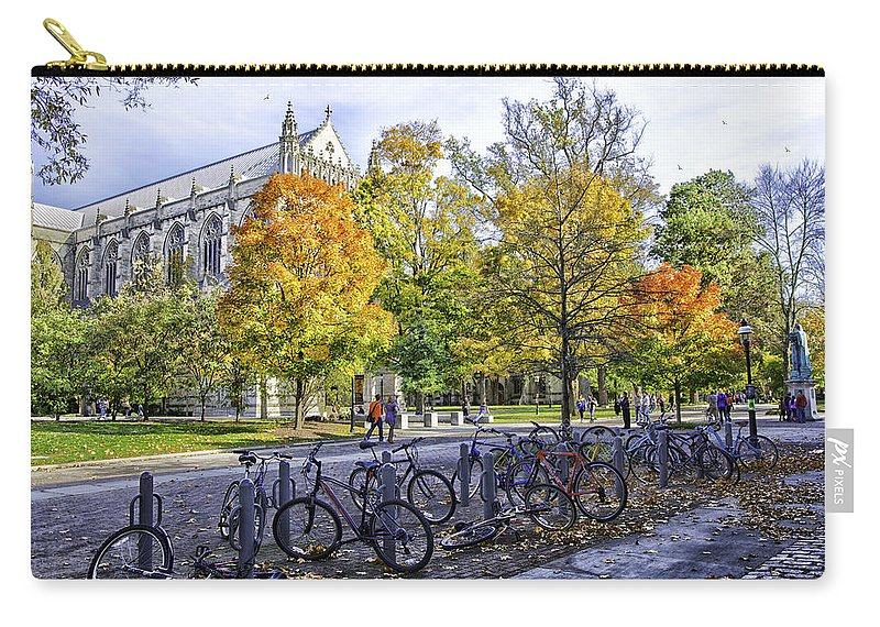 Princeton University Carry-all Pouch featuring the photograph Princeton University Campus by Madeline Ellis