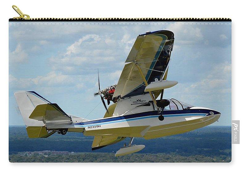 Progressive Aerodyne Searey Carry-all Pouch featuring the photograph Progressive Aerodyne Searey by Matt Abrams