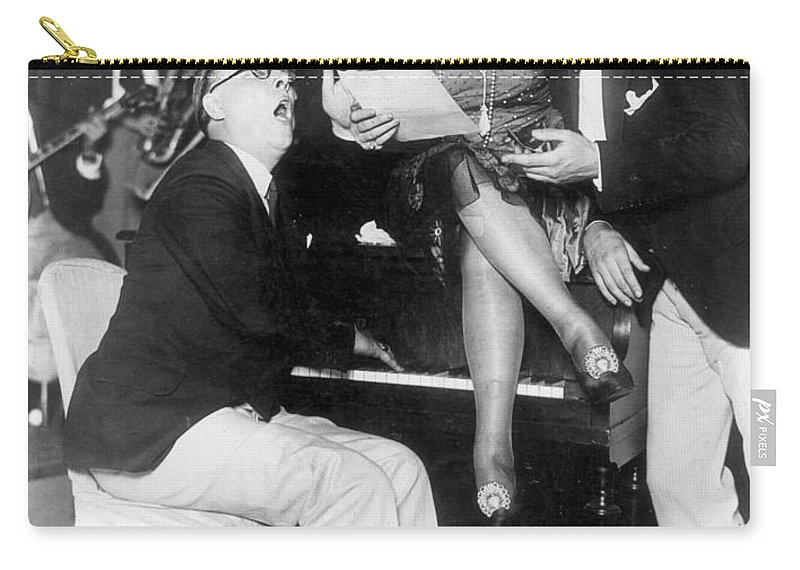 18th Amendment Carry-all Pouch featuring the photograph Prohibition: Speakeasy by Granger