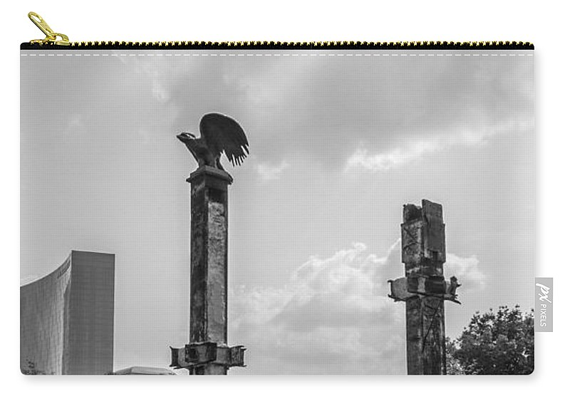 421 Carry-all Pouch featuring the photograph Project 911 Indianapolis by Semmick Photo