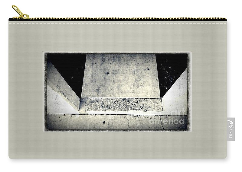 Street Snapshot Carry-all Pouch featuring the photograph Prooflessness by Fei A