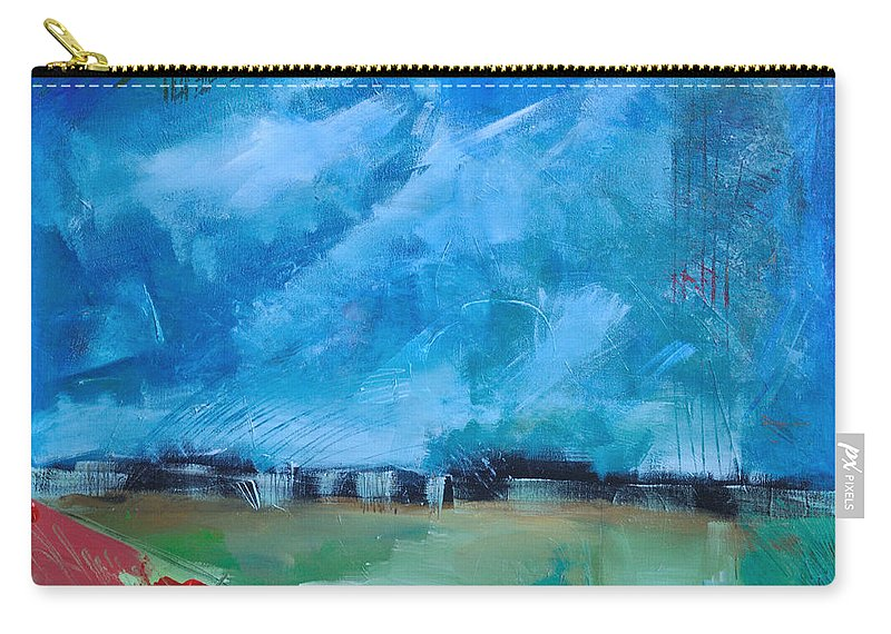 Abstract Carry-all Pouch featuring the painting Prophesy by Tim Nyberg