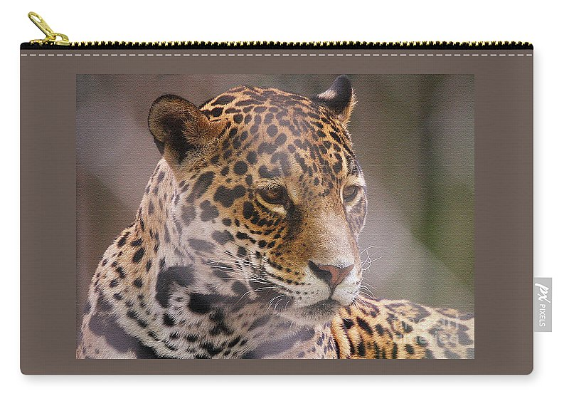 Leopards Carry-all Pouch featuring the photograph Out Of Africa by Geoff Crego