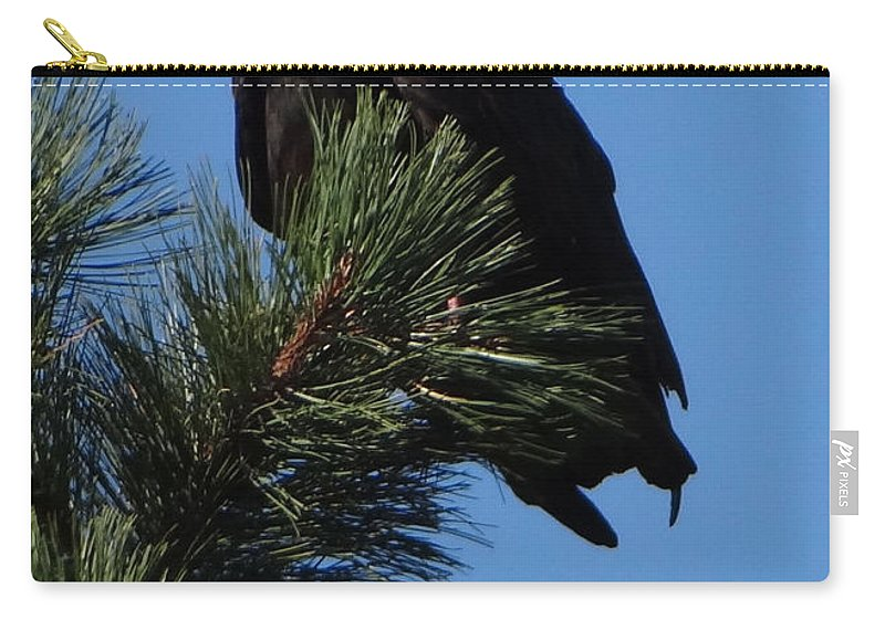 Vulture Carry-all Pouch featuring the photograph Proud by Jamie Ramirez