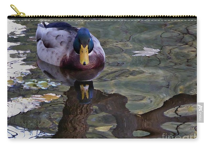 Carry-all Pouch featuring the photograph Proud Of My Beak by Nili Tochner